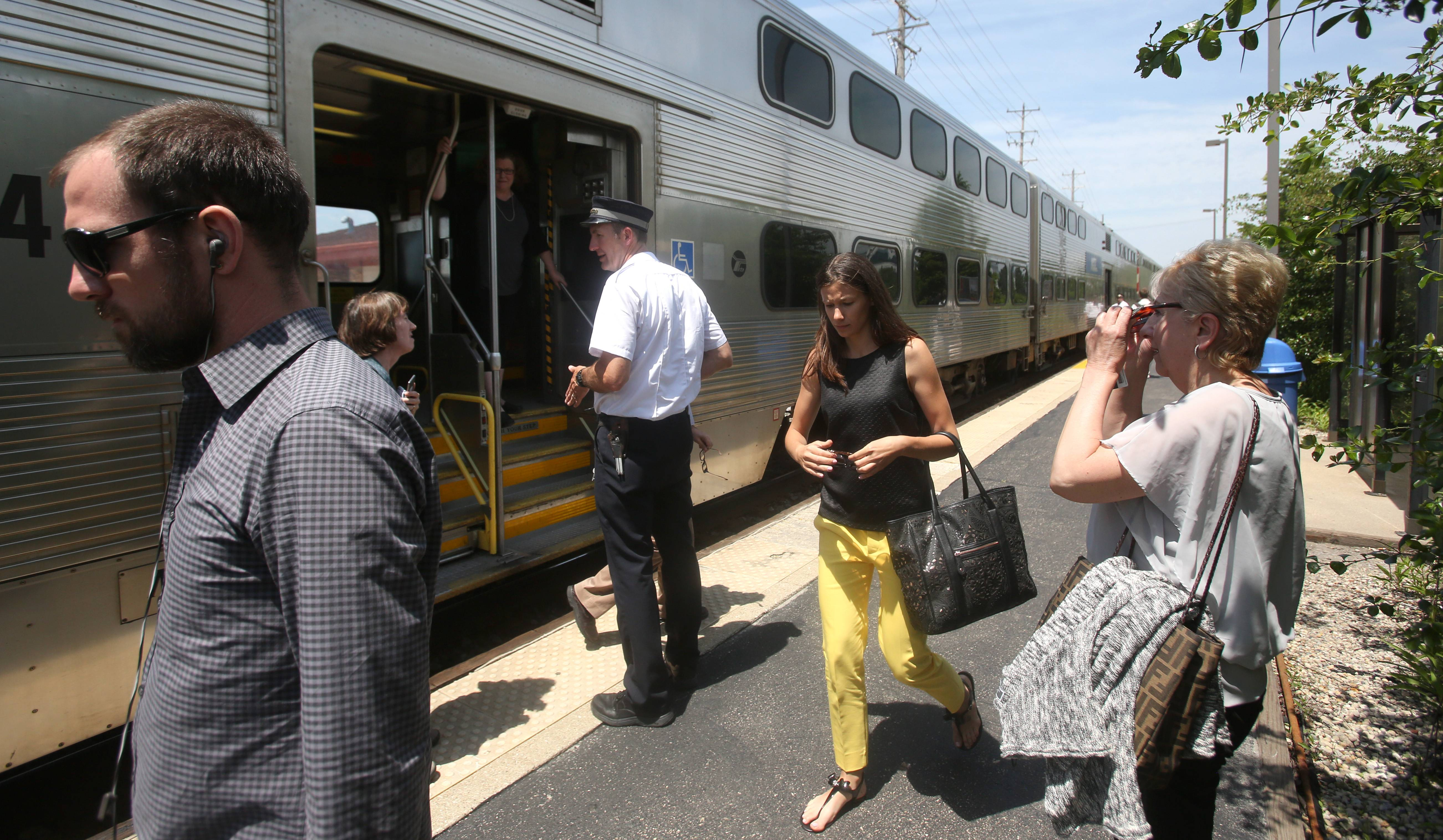 Metra is exploring a partnership with a ride-provider for passengers who need a lift to their final destination.