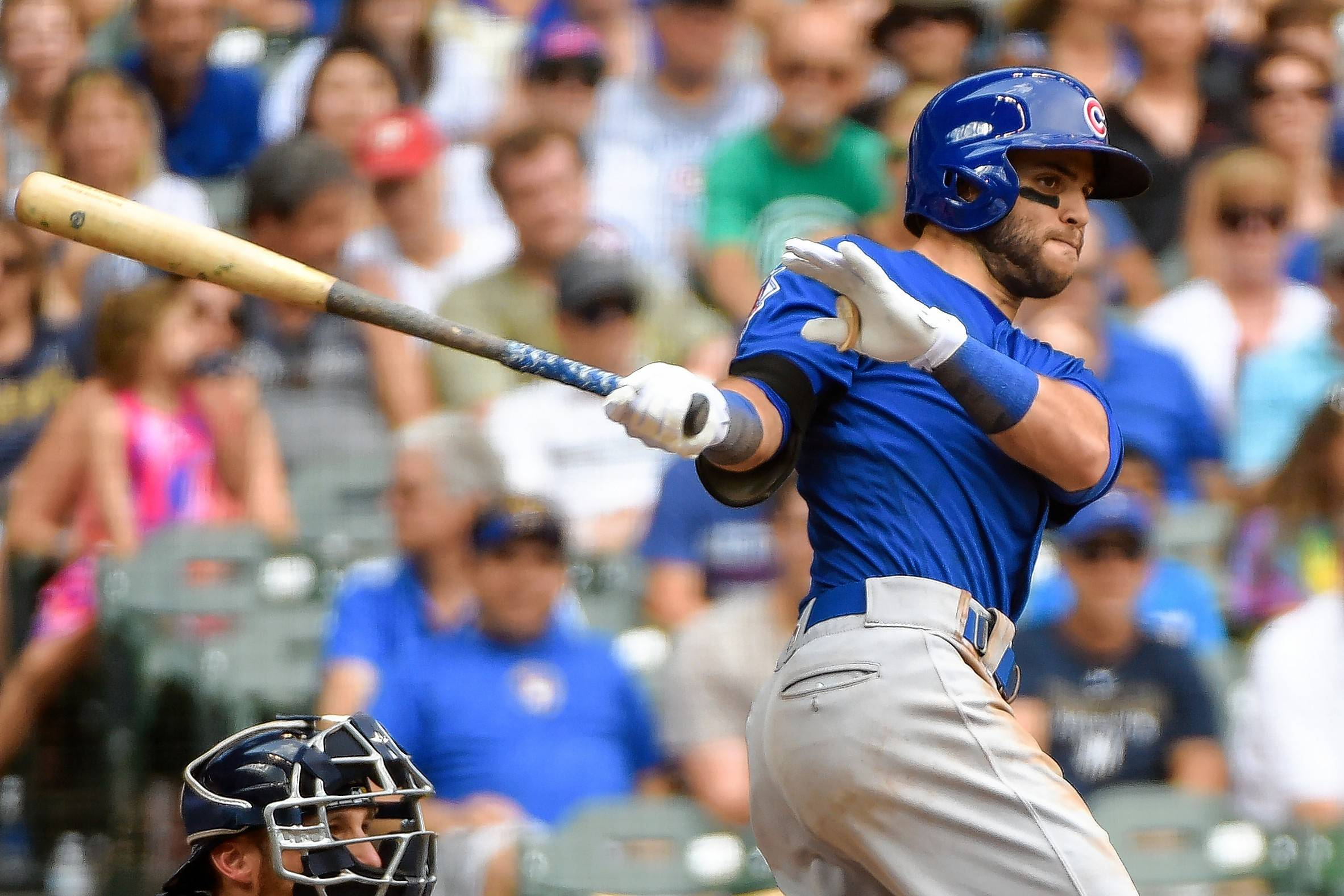 The Cubs activated outfielder Chris Coghlan off the disabled list Friday and optioned infielder Tommy La Stella, above, to Triple-A Iowa. La Stella, was hitting .295 in 105 at-bats with a .388 on-base percentage.