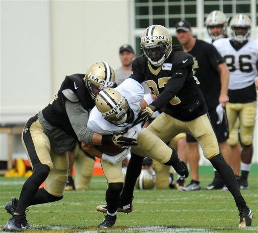 NFL Jerseys Outlet - Saints' Payton wary of wearing players out at training camp