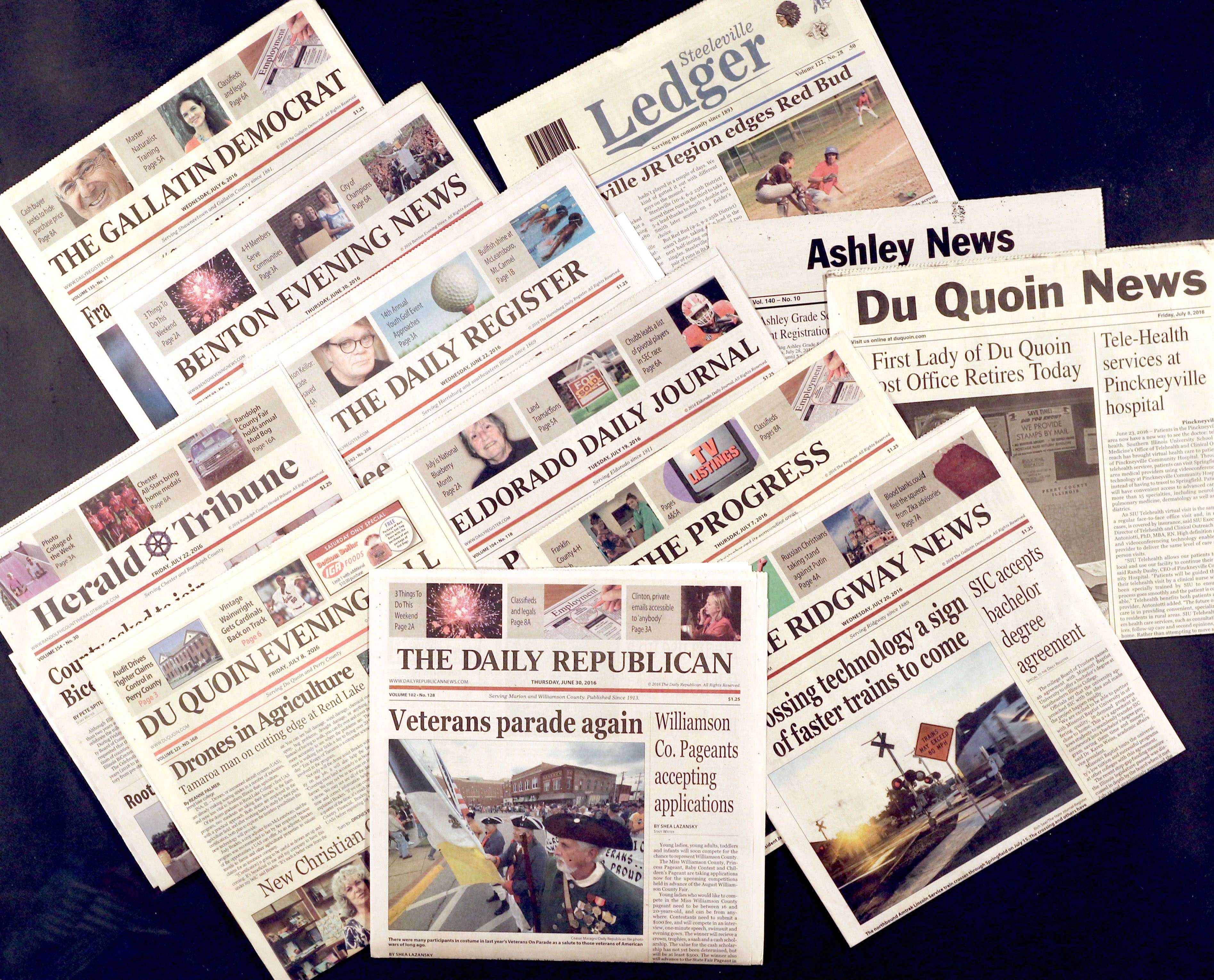 The Daily Herald's parent company is buying five daily newspapers and seven weeklies in Southern Illinois from GateHouse Media.