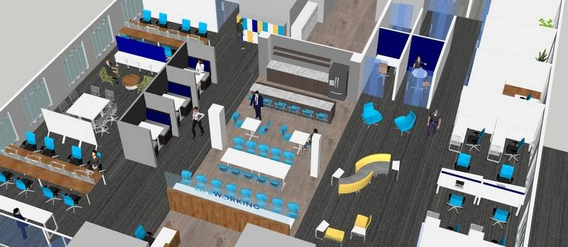 Access To Conference Rooms And Office Spaces