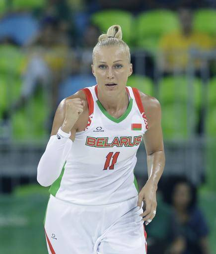 Japan wins 1st Olympic game since 2004, edging Belarus 77-73 Yelena Leuchanka