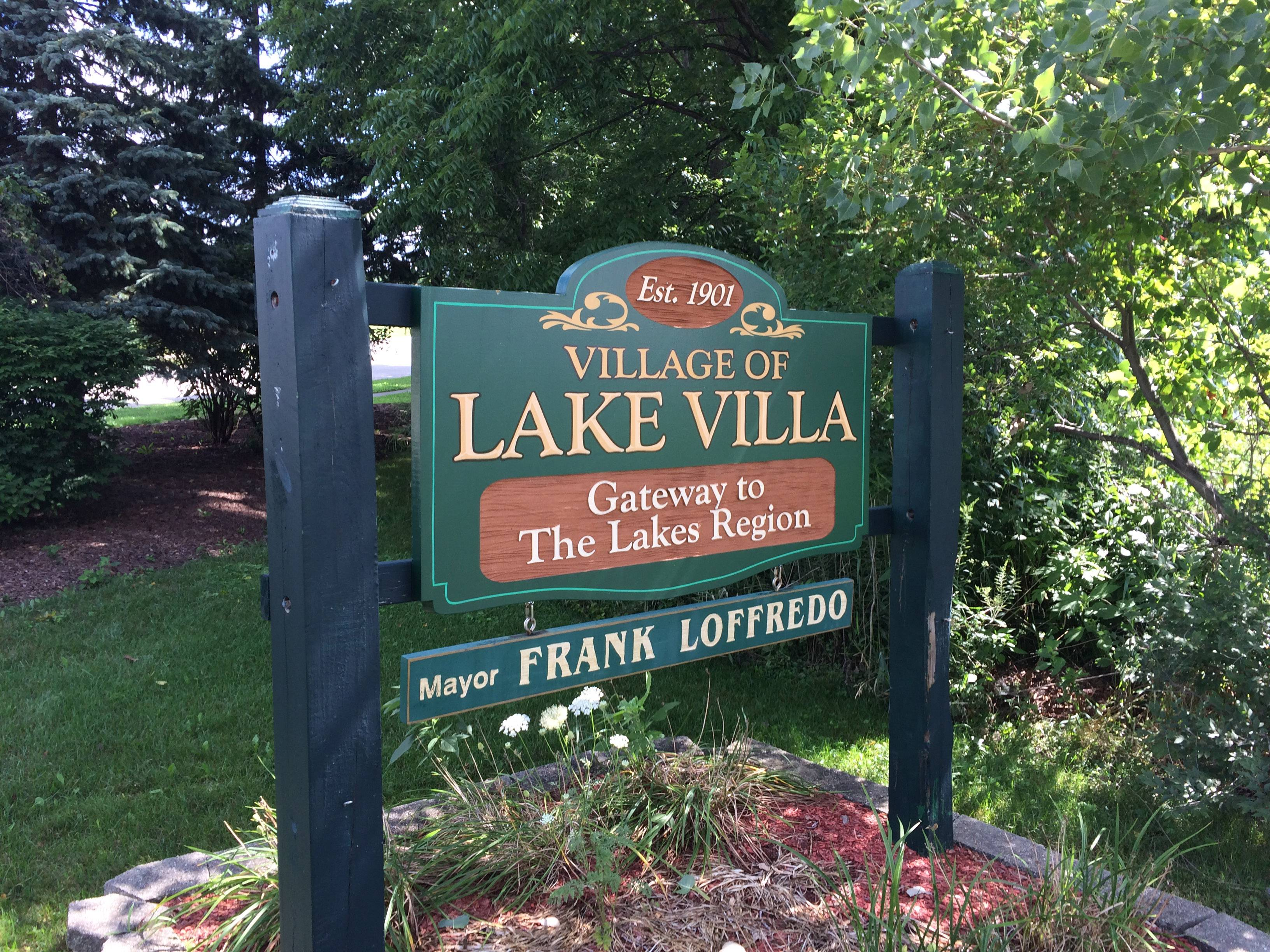 The village of Lake Villa was established in 1901. U.S. Census figures obtained in 2010 has the village with a population of 8,774.