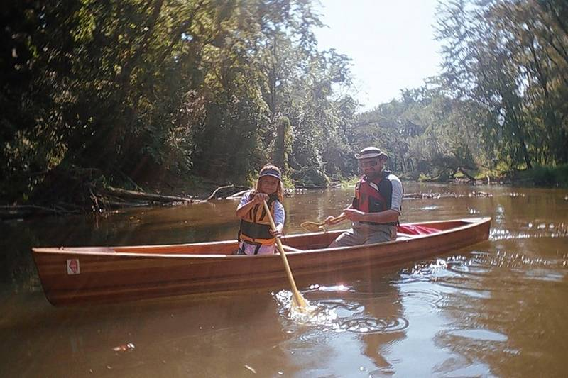 Canoeing on the Des Plaines River is a favorite among paddlers in the suburbs.