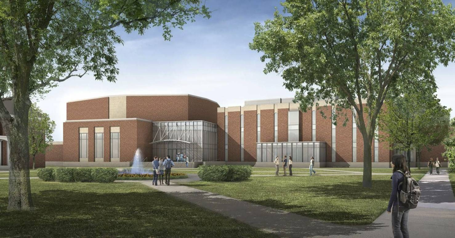Wheaton College ready to start work on new home for Conservatory of Music