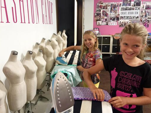 School Age Designers Sew Away Their Summers