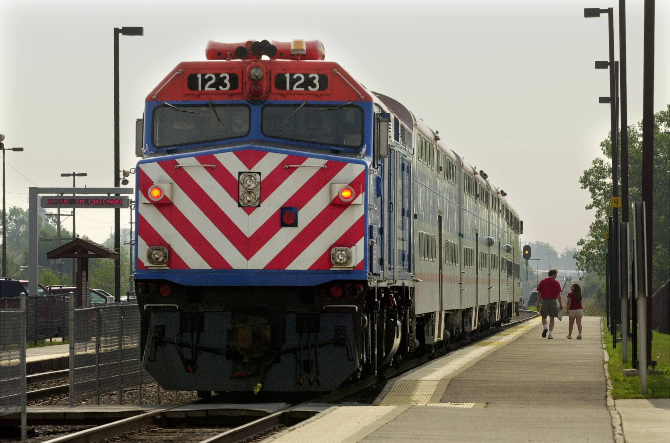 Metra is scaling back plans to replace aged locomotives and rail cars.