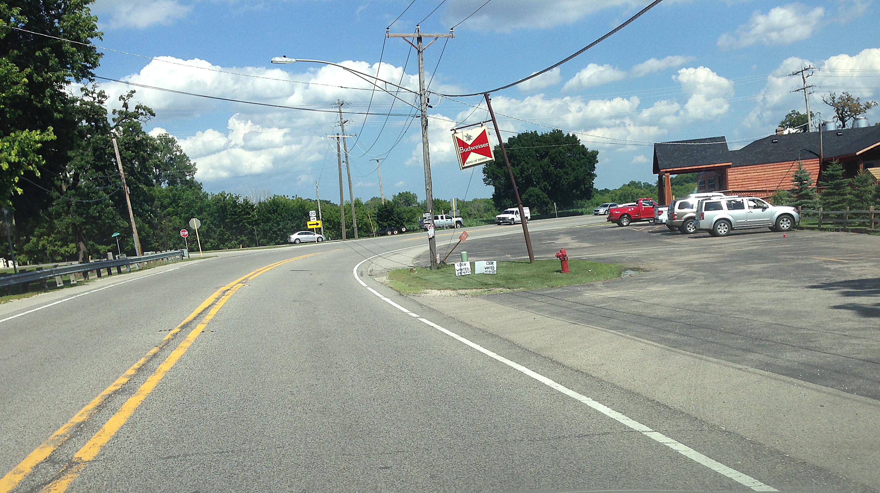 Roundabout planned for Route 20 and Reinking Road