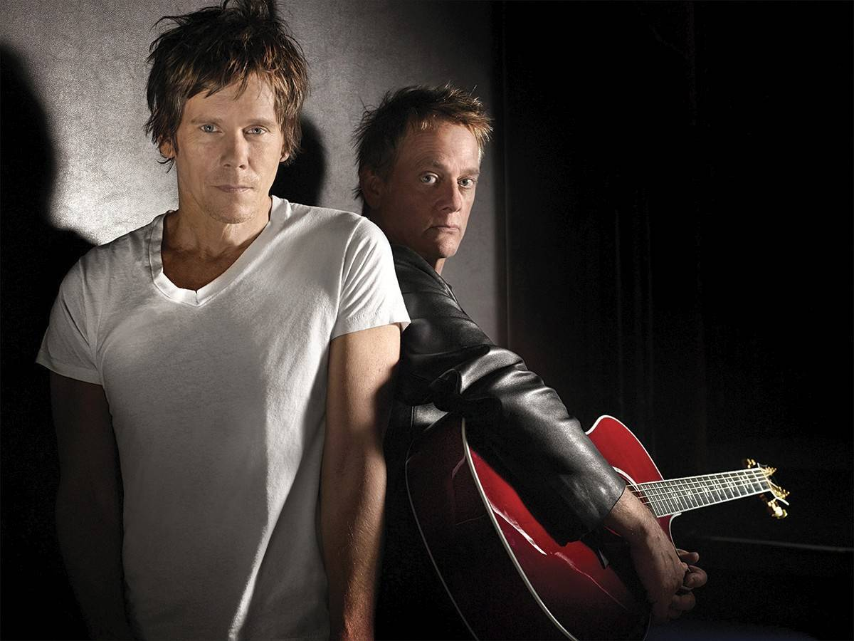 The Bacon Brothers, led by actor Kevin Bacon and his brother, Michael, will play two shows at Metropolis Performing Arts Centre in Arlington Heights.