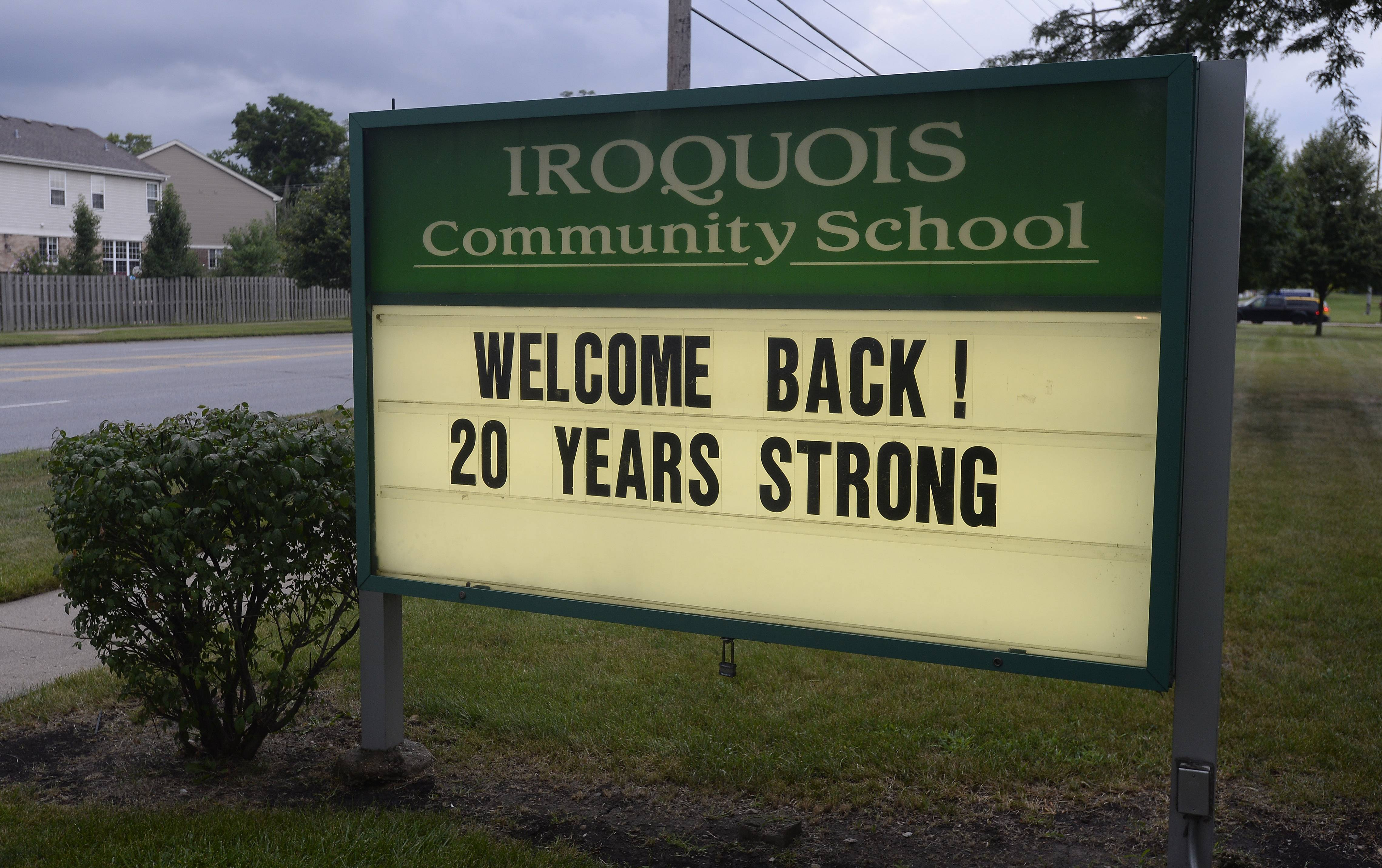 Iroquois School in Des Plaines celebrated its 20th anniversary on Friday.