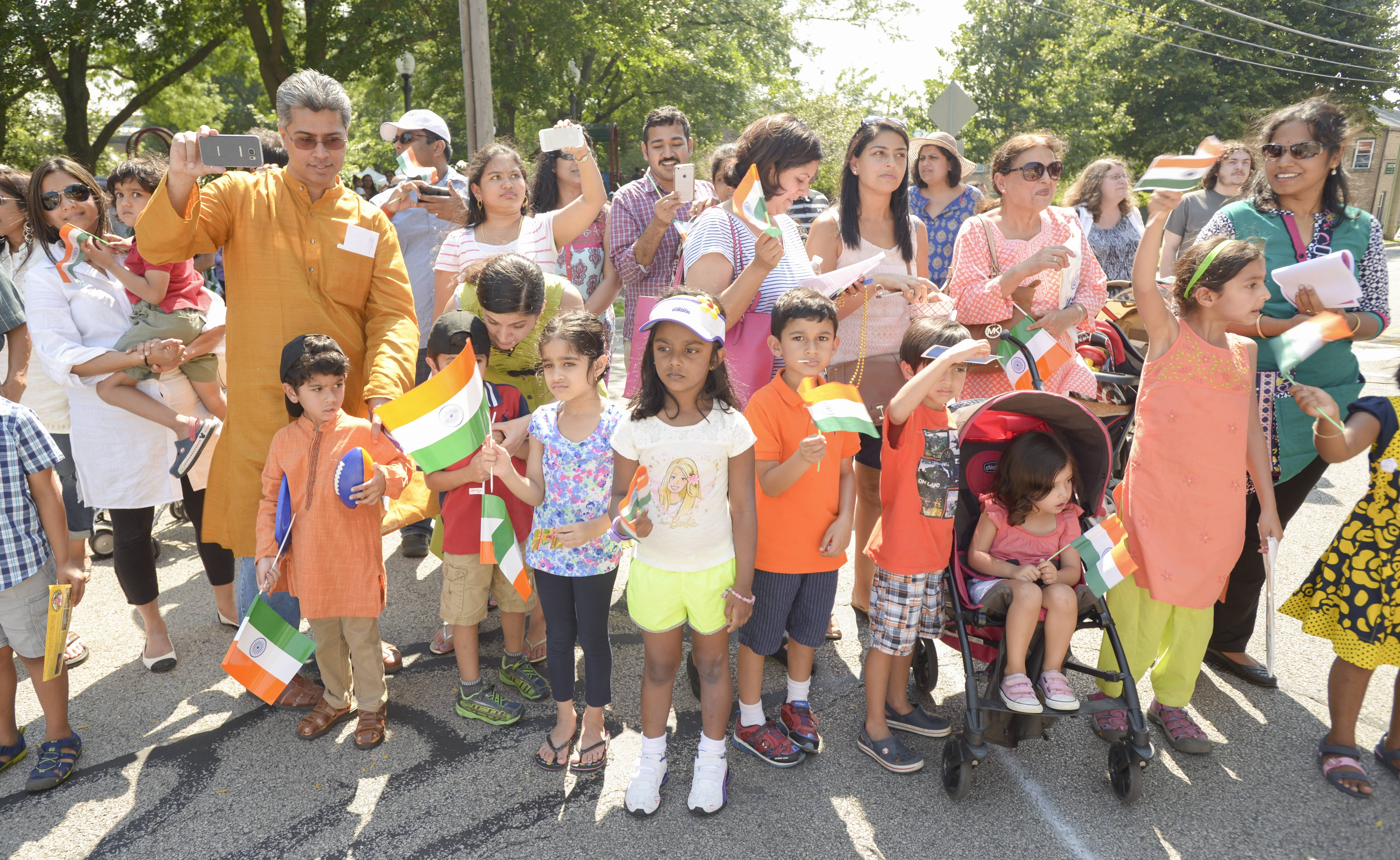 Crowds are expected to gather along Porter Avenue, Main Street, Hillside Road and West Street near downtown Naperville for the second annual India Day Parade at 5 p.m. Sunday.