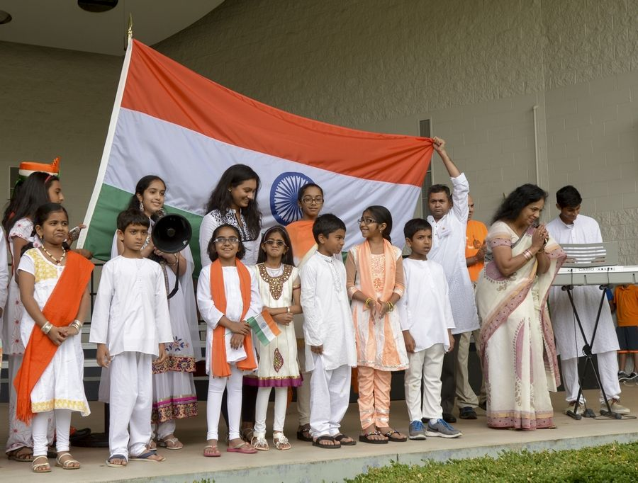 The colors of the Indian flag will be prominent among floats and dance groups Sunday in the second annual Naperville India Day Parade, which steps off at 5 p.m. on Porter Avenue at Naperville Central High School.