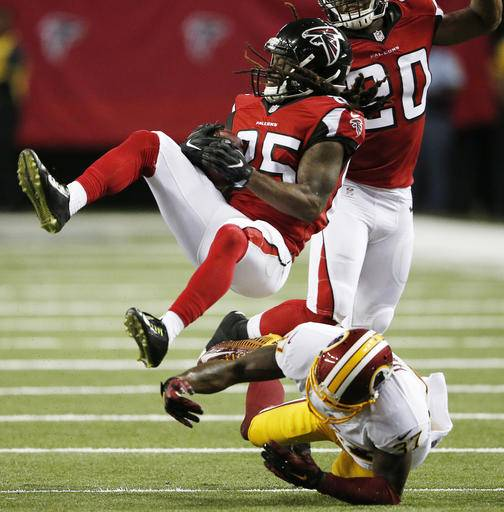 NFL Jerseys Online - Quinn likes speed, big hits he sees on Falcons defense