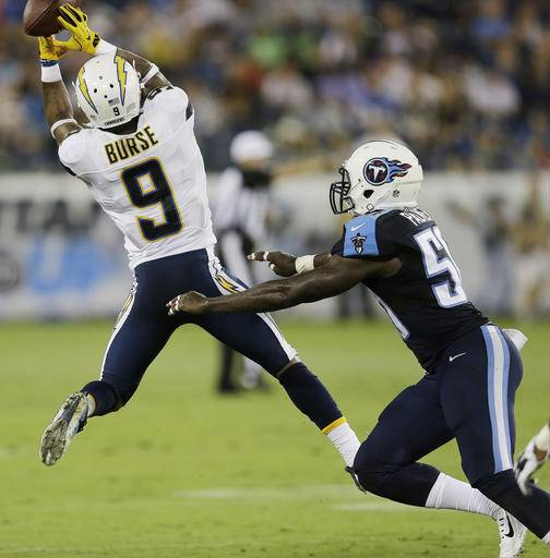 San Diego Chargers First Game: Murray's Long TD Run Helps Titans Beat Chargers 27-10