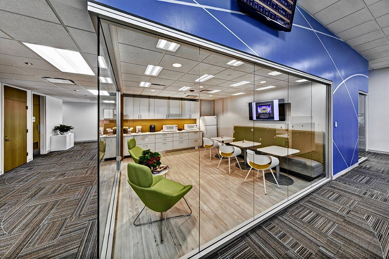 J.C. Anderson Inc. in Elmhurst completed an 80,000-square-foot office renovation for Guarantee Trust Life Insurance Co. in Glenview.