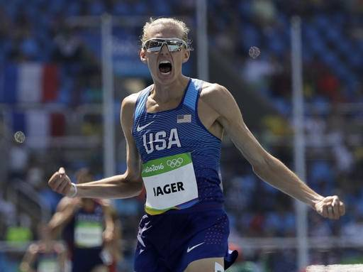 Jager earns 1st US Olympic medal in steeplechase since '84