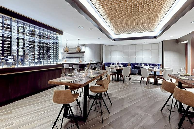 This is the dining room of B  a new restaurant in Oak Brook Chef opens restaurant in Oak Brook called B . Oak Brook Il Restaurants Delivery. Home Design Ideas