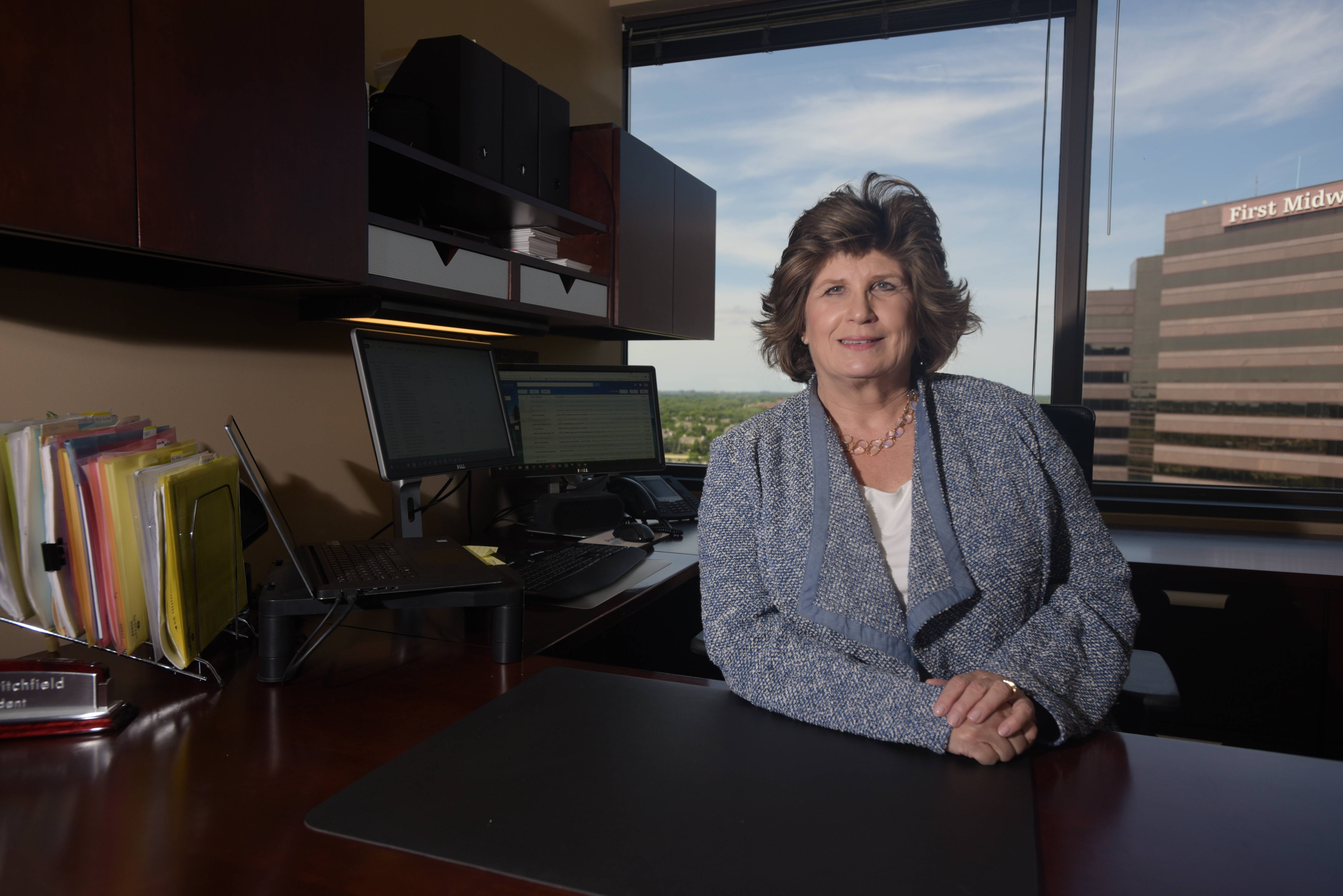 Peggy Critchfield is president of Accurate Biometrics in Itasca.