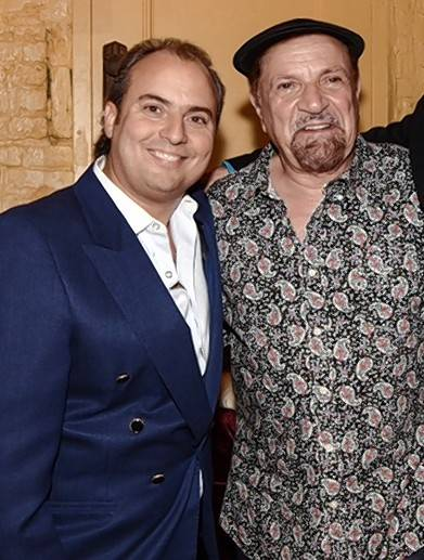 Ron Onesti, left, with Felix Cavaliere of the Rascals who will appear Friday, Sept. 30, at The Arcada Theatre in St. Charles.