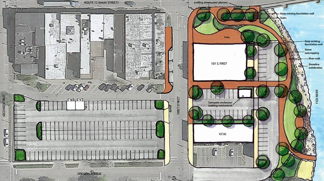 West Dundee officials Monday are expected to continue discussions about the prioritizing and funding of several downtown projects, including riverfront stabilization, a plaza and additional parking.
