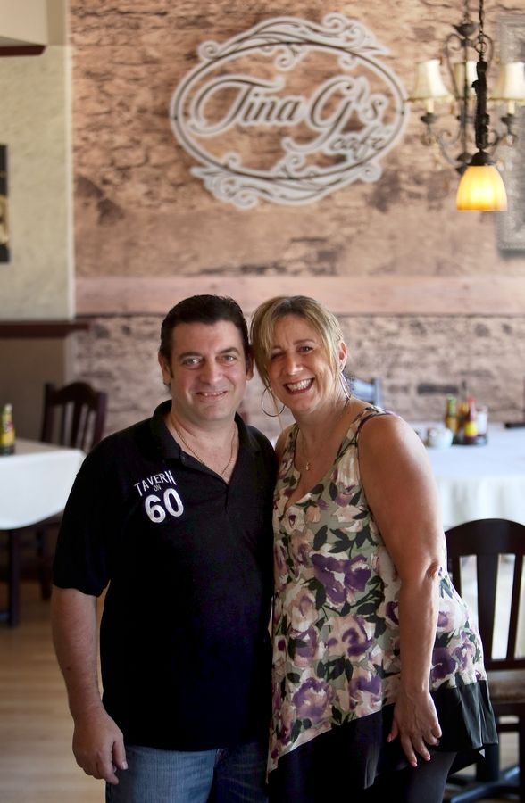 Phil and Tina Gilardi own Tina G's, a new restaurant at 10 E. Park St. in Mundelein. It's the couple's third restaurant, the second in their hometown.