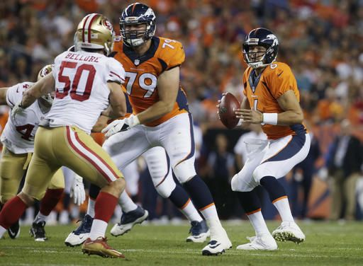 dbd38194ae3 Ponder helps 49ers to 31-24 exhibition win over Broncos
