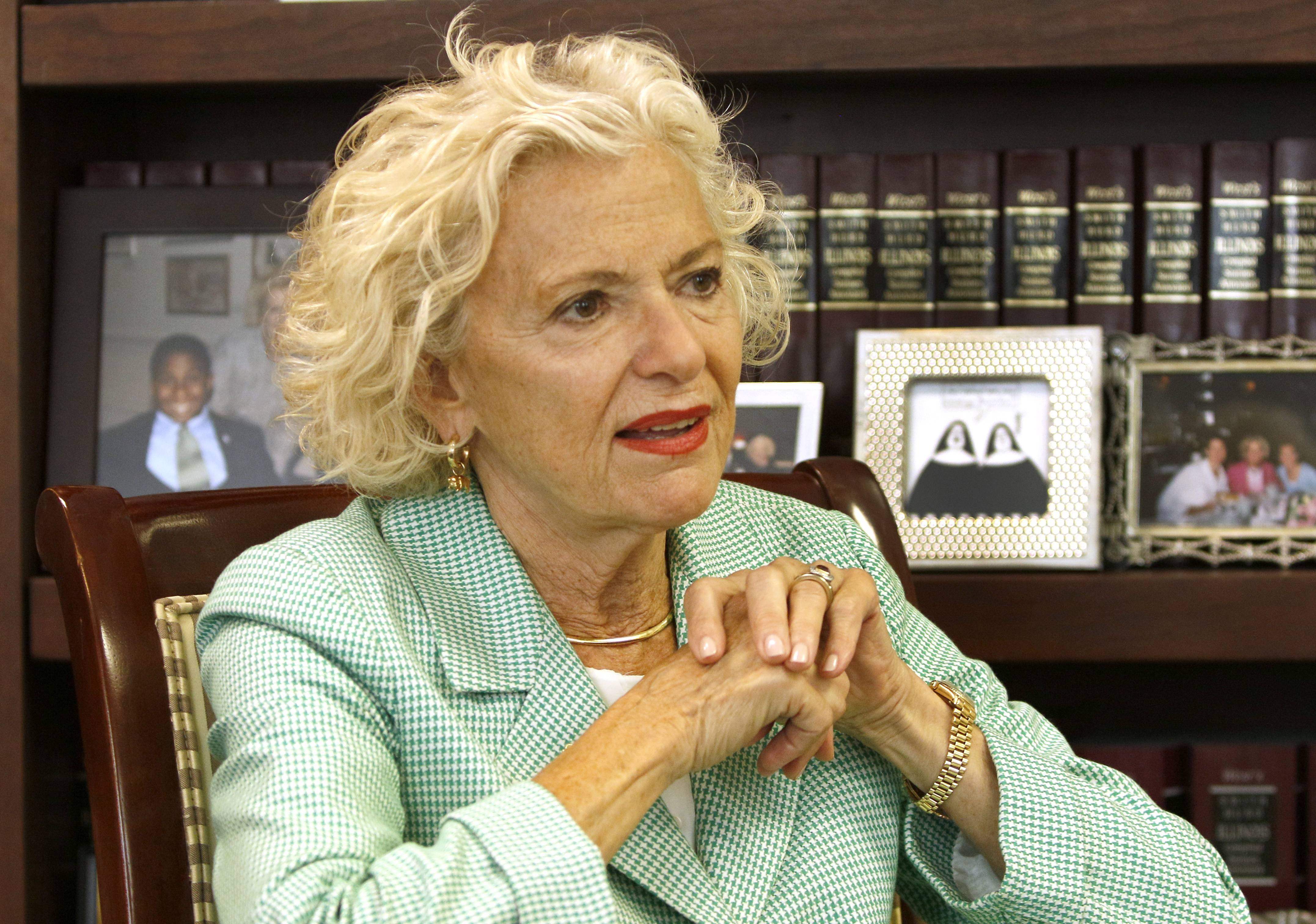 Illinois Supreme Court Justice Anne Burke says changes are needed in the Cook County circuit court system.