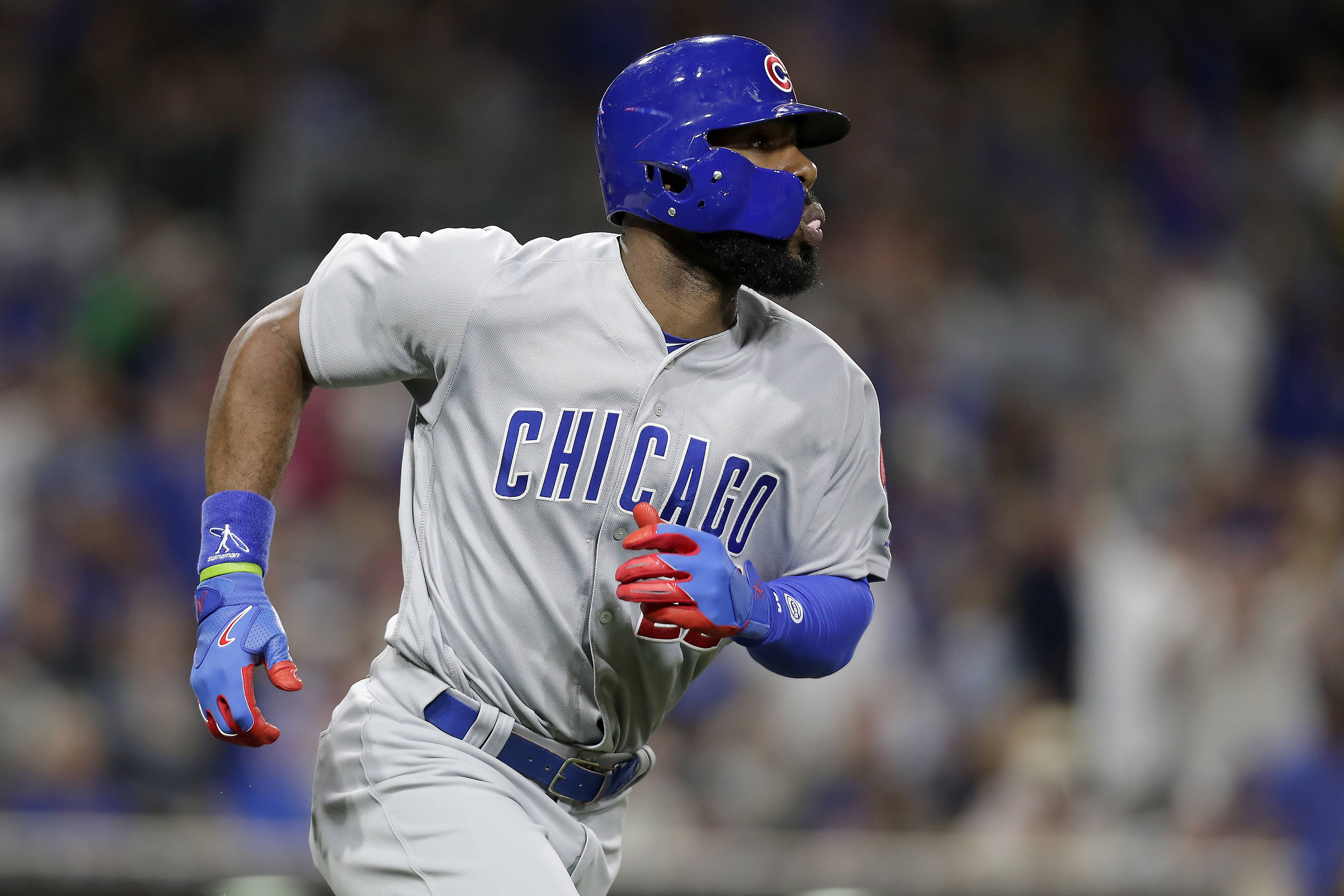 Chicago Cubs right fielder Jason Heyward hit a 2-run home run during the fifth inning Monday night against the San Diego Padres.