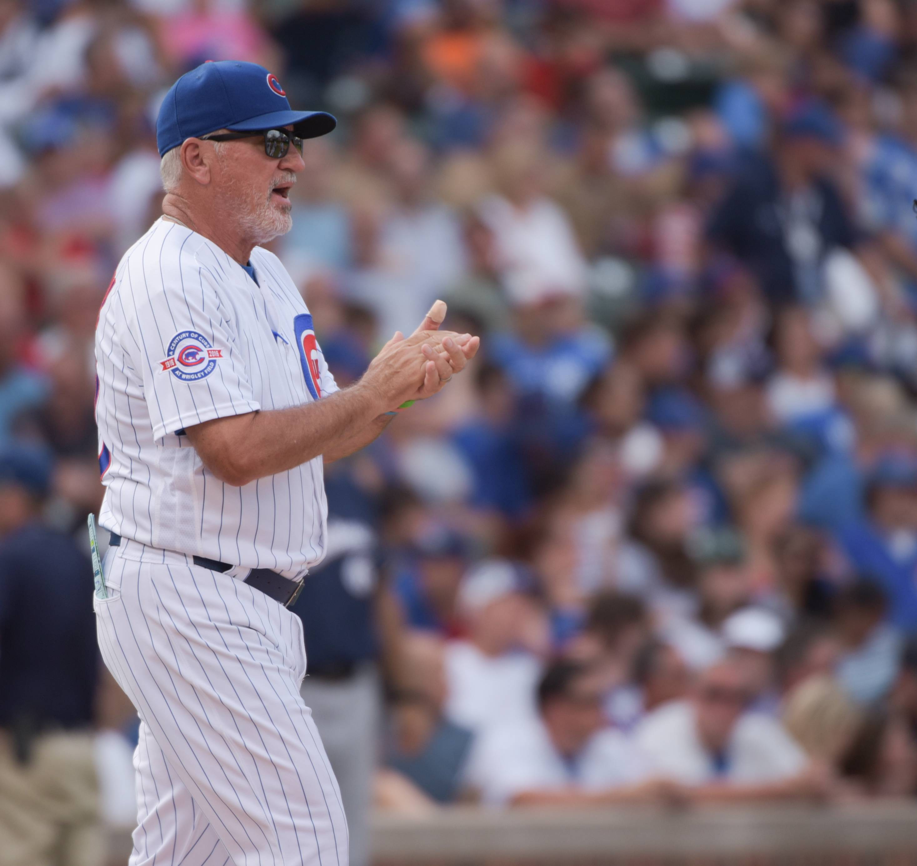 Chicago Cubs manager Joe Maddon is in no rush to figure out his postseason starting rotation, so why should anybody else be?