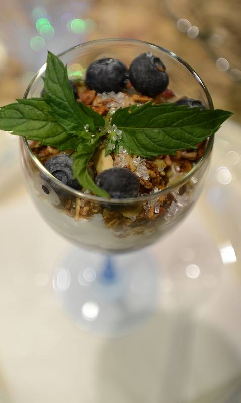 Annie Overboe's blueberry Yogurt Parfaits with Granola make for a ...