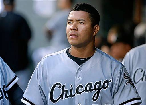 Will starting pitcher Jose Quintana still be a part of the Chicago White Sox's rotation when the team reports to spring training next year. (AP Photo/Ted S. Warren)