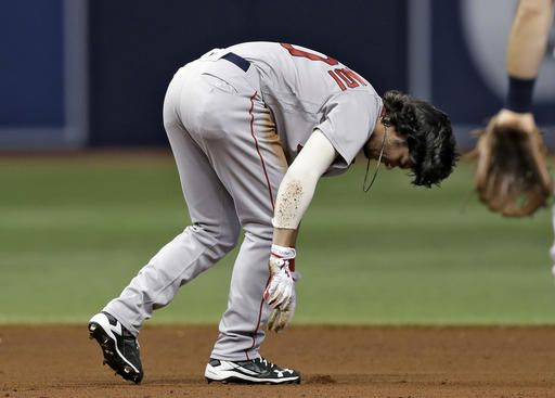 Red Sox place OF Andrew Benintendi on DL with knee sprain