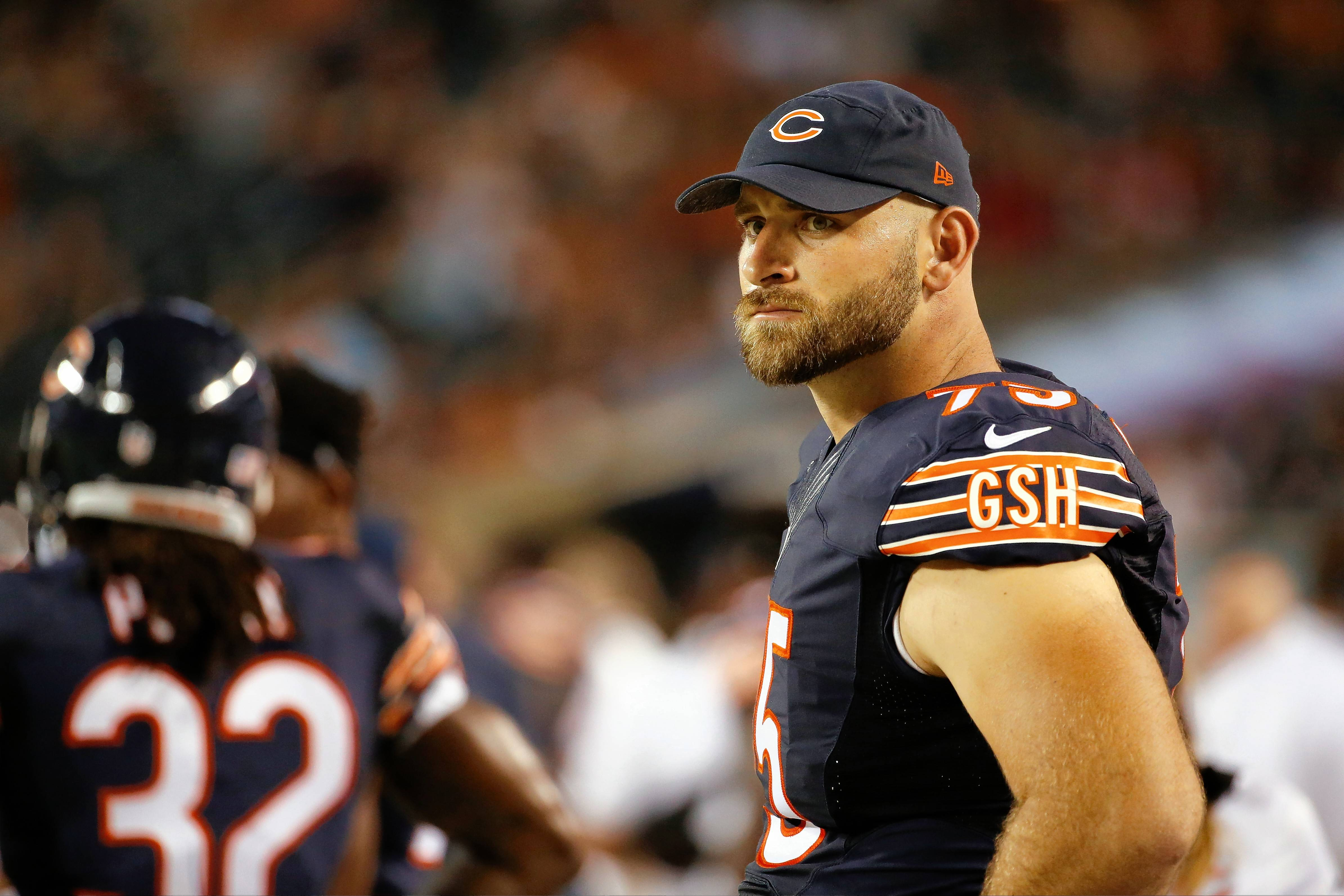With several Chicago Bears starters, including offensive tackle Kyle Long above, sidelined with injures, some backups will get an opportunity to see how they fit in with the first team when the Bears take on the Kansas City Chiefs at noon on Saturday.