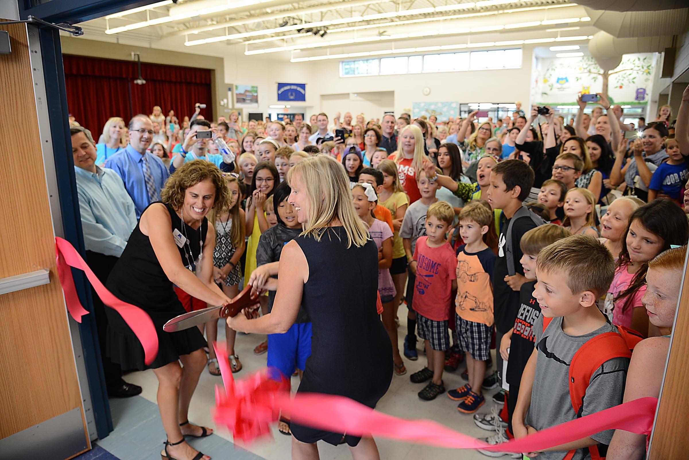Dist. 25 debuts $18 million renovations at Ivy Hill, Olive schools