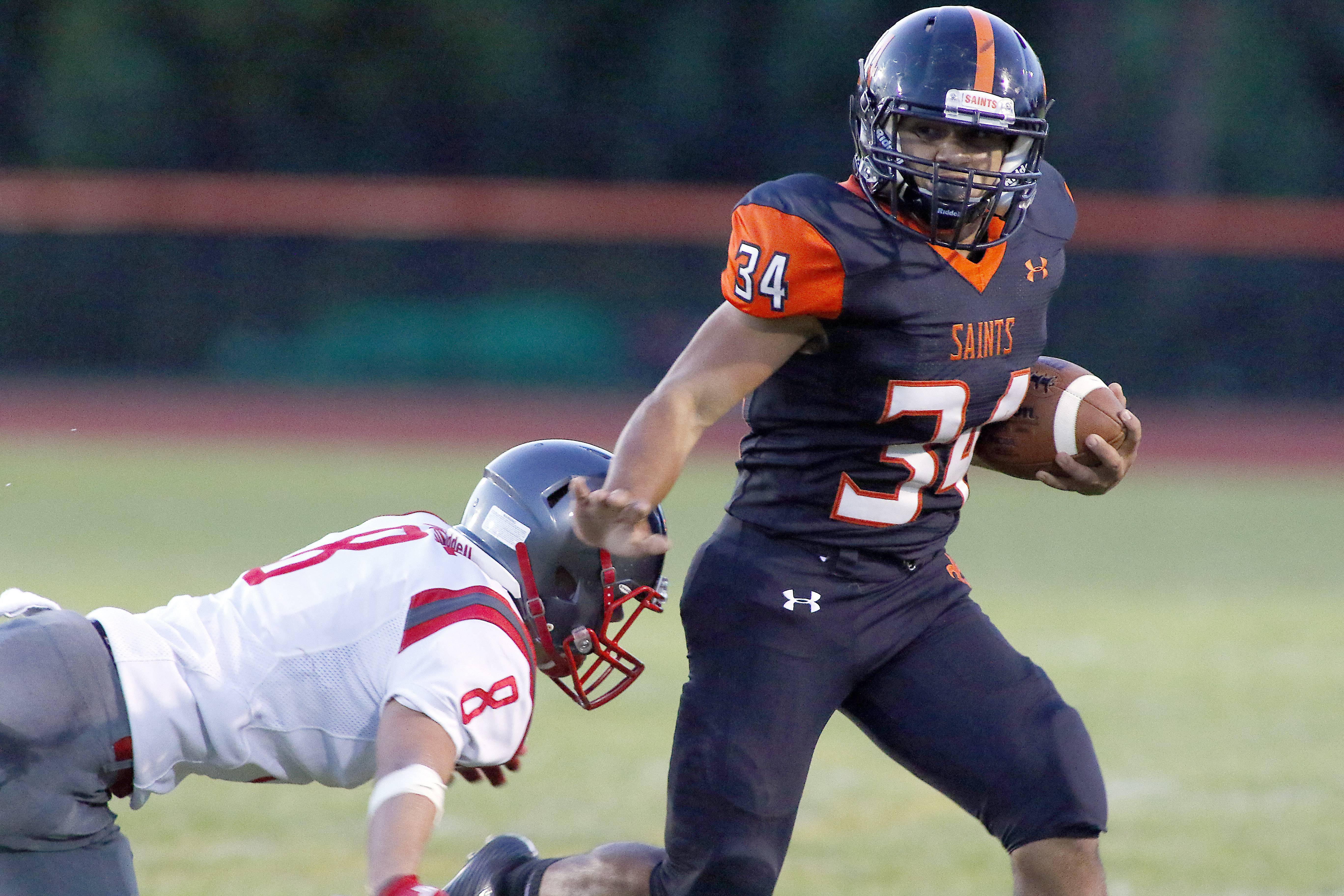 St. Charles East has its way with South Elgin