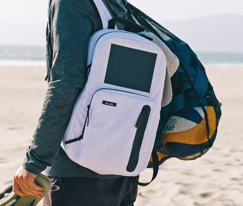 Traditionally, backpacks are toted along on activities where you need to store your phone while you disconnect. That could be an afternoon spent hiking or a day at the beach or an after-work gym session. But consumers simply love their phones and tablets so much that pack-makers are changing their products so devices can be used continuously.