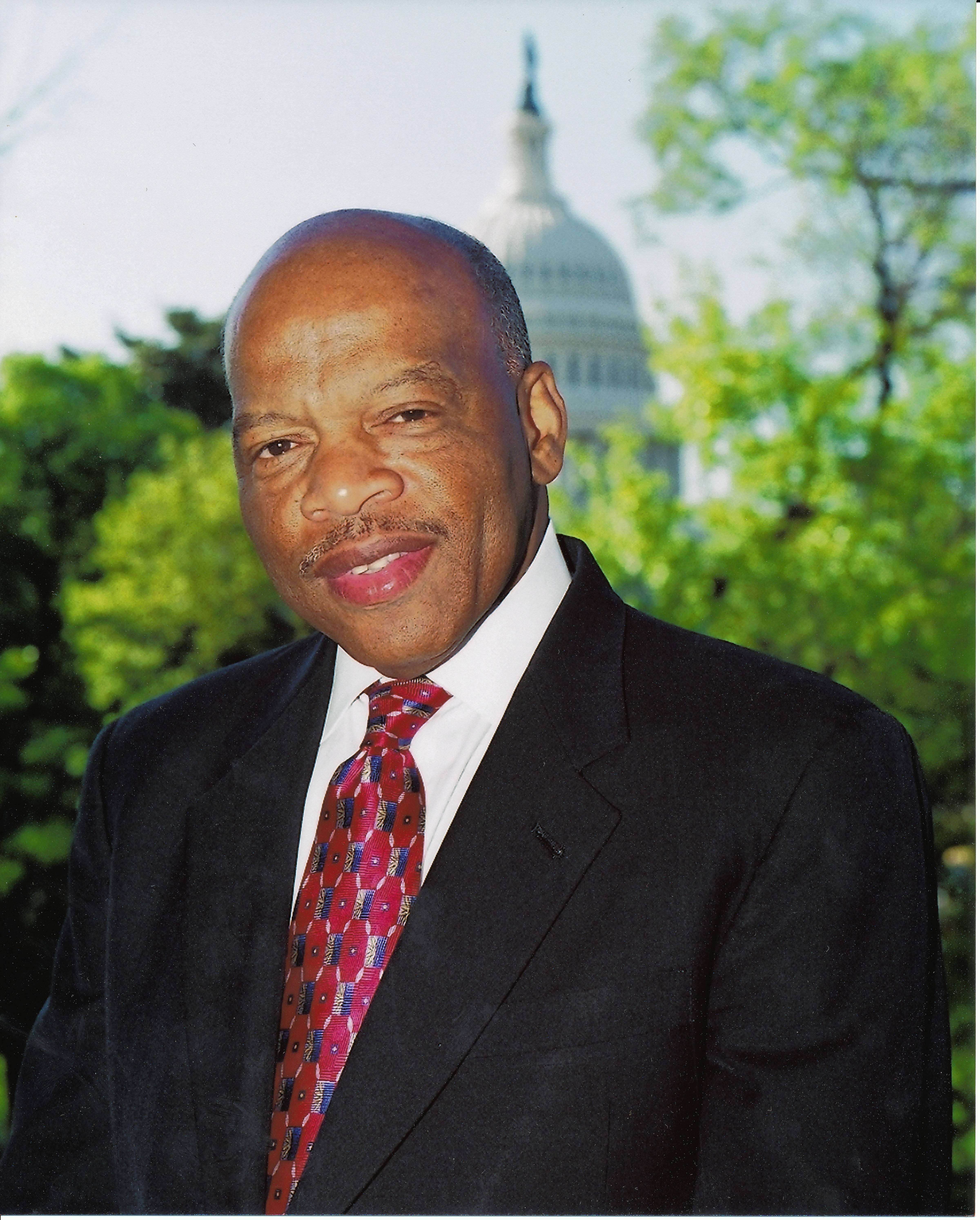 "Congressman John Lewis of Georgia discusses his ""March"" graphic novel series Monday, Aug. 29, at Evanston Township High School."