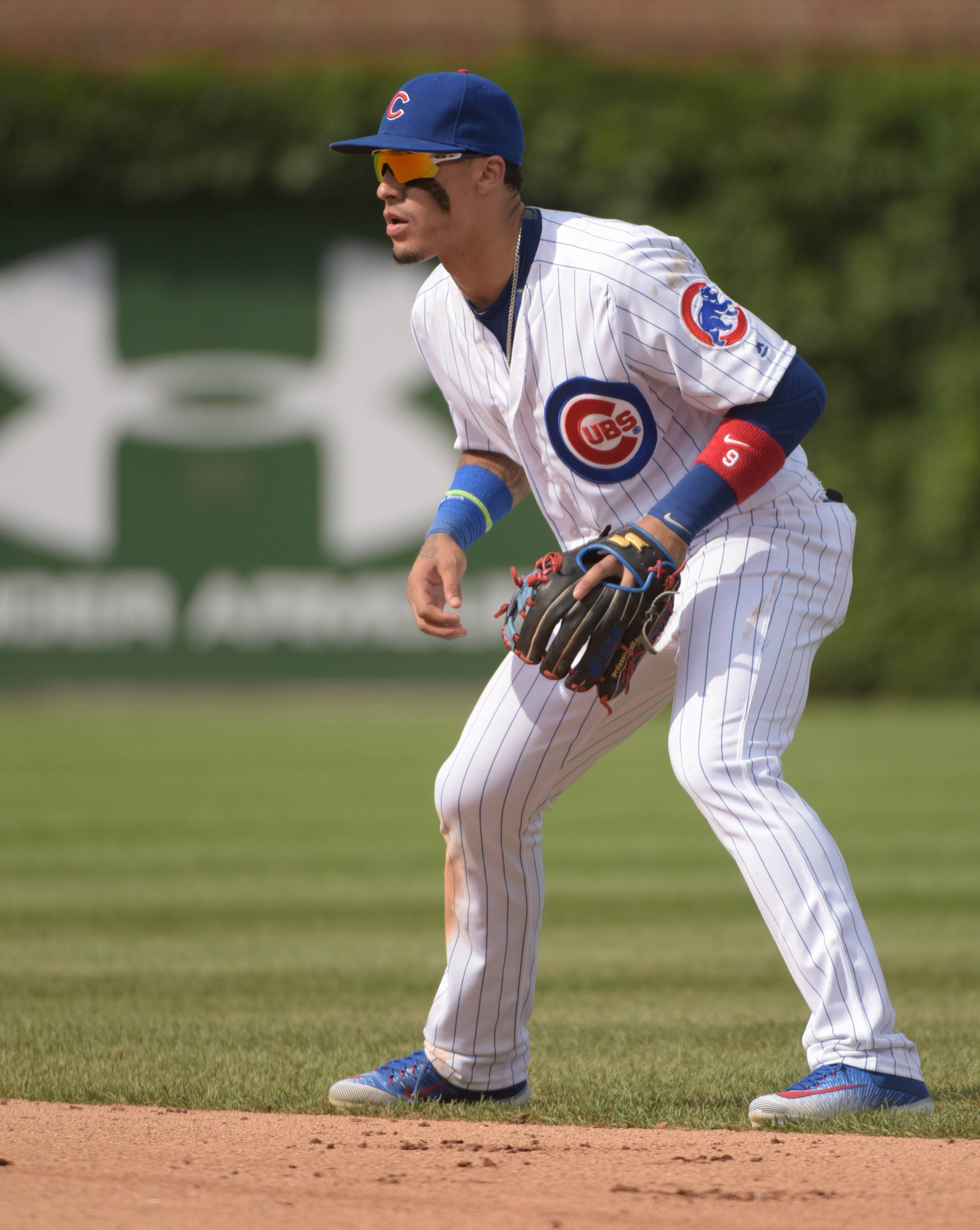 The versatility of the Chicago Cubs' Javier Baez allows manager Joe Maddon to rest the team's regulars more often. Baez is able to plug into whatever position needed without the team suffering defensively.