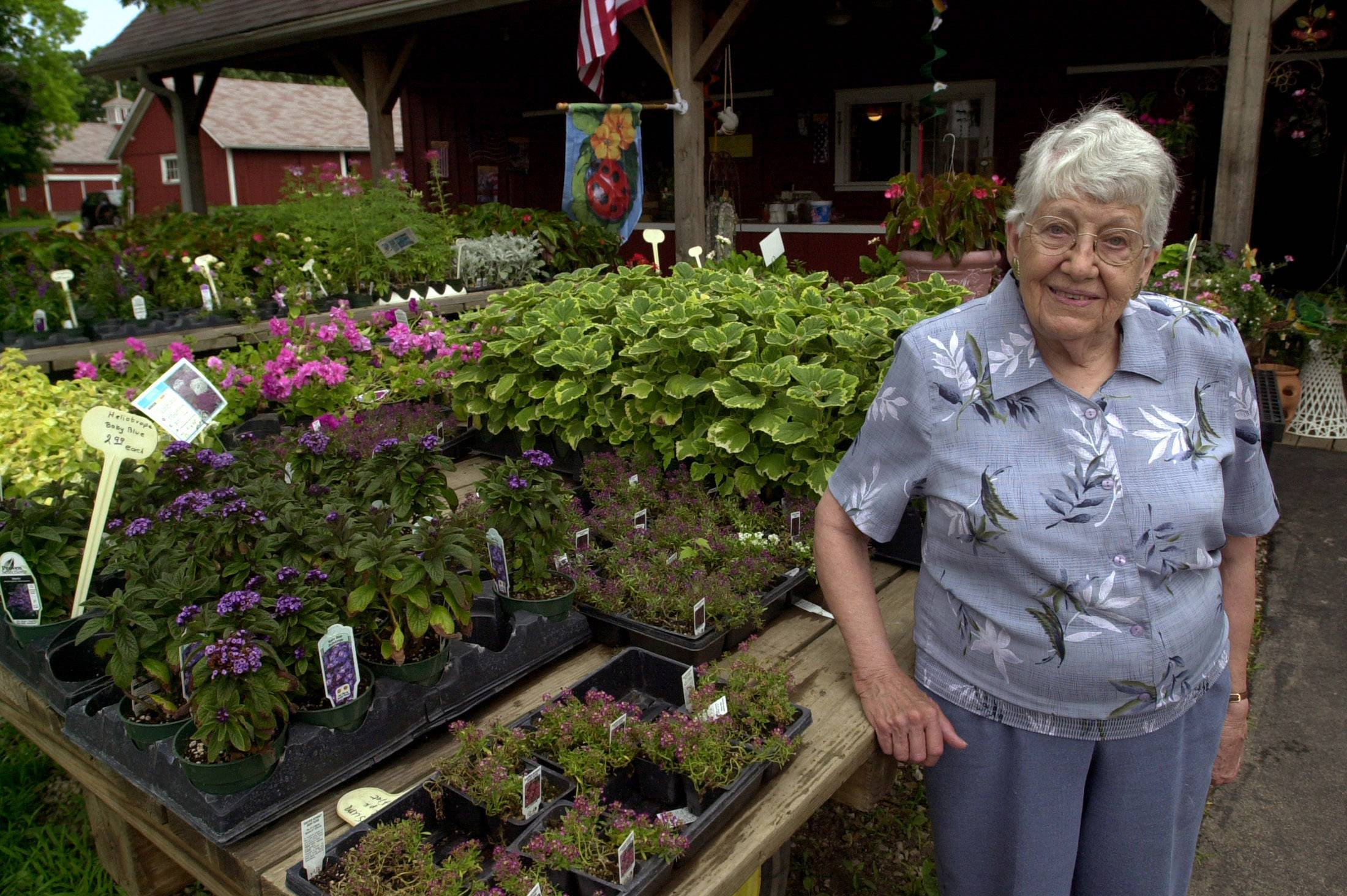 Ramona Feltes, longtime owner of Sonny Acres Farm in West Chicago, died earlier this month at age 98.