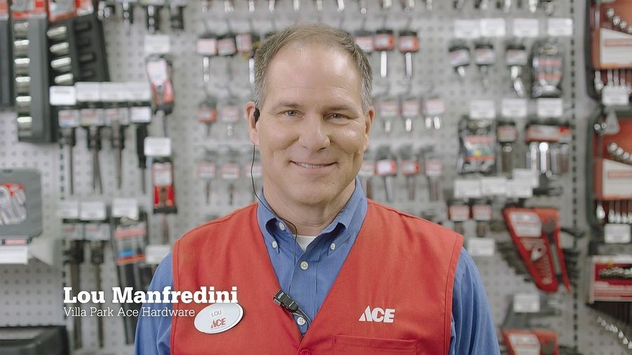 COURTESY OF ACE HARDWARELou Manfredini, owns the Ace Hardware's Home Expert in Villa Park (above) as well as a store in Chicago. He's looking around the suburbs to add another store.