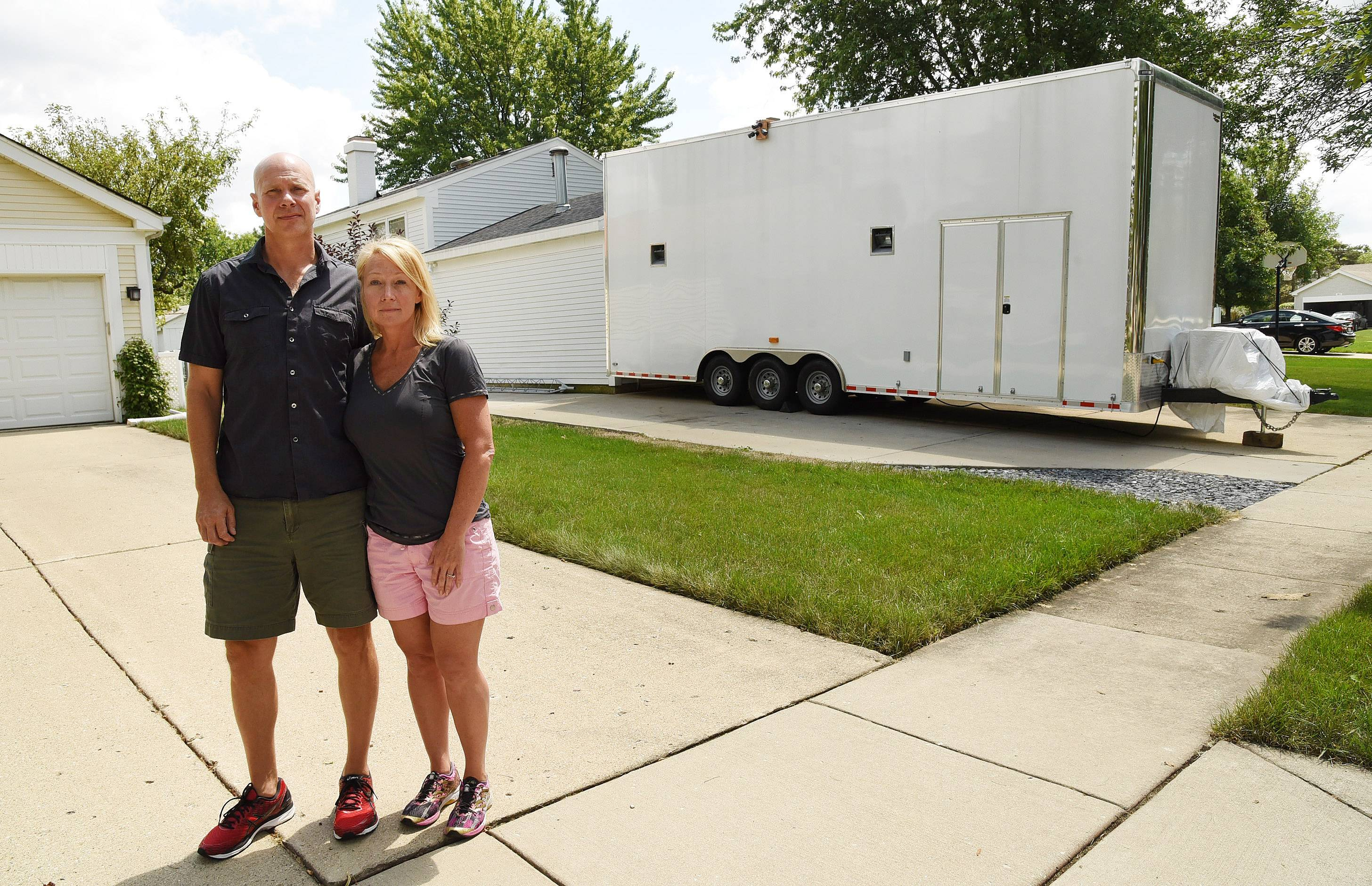 Trailer talk in Schaumburg on hold