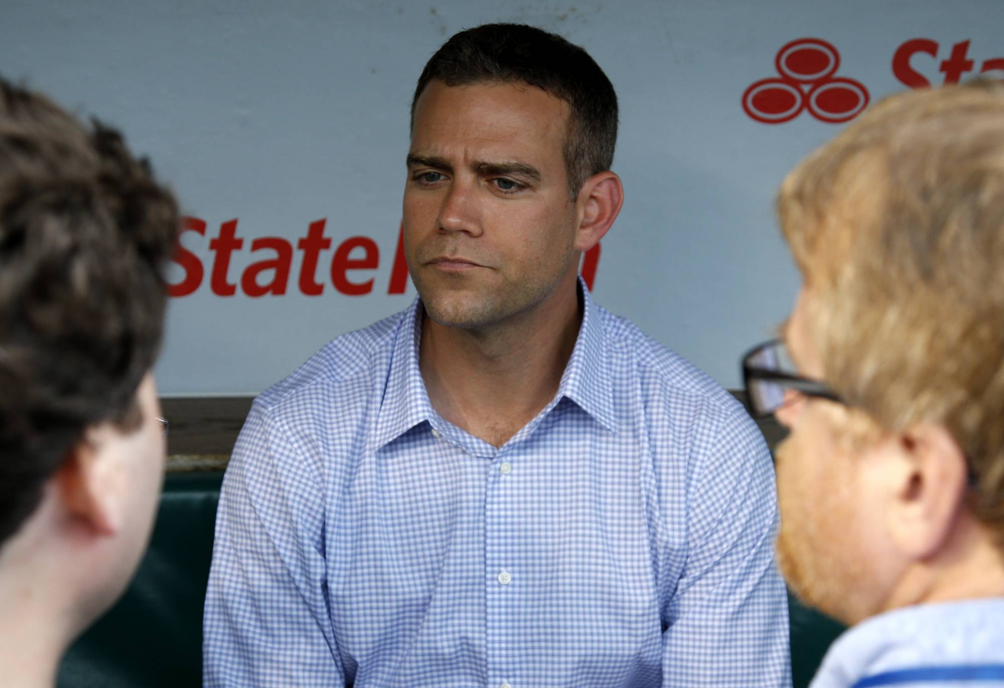 Despite a big lead in the NL Central for the Chicago Cubs, team president Theo Epstein doesn't want anybody to get too far ahead of themselves.
