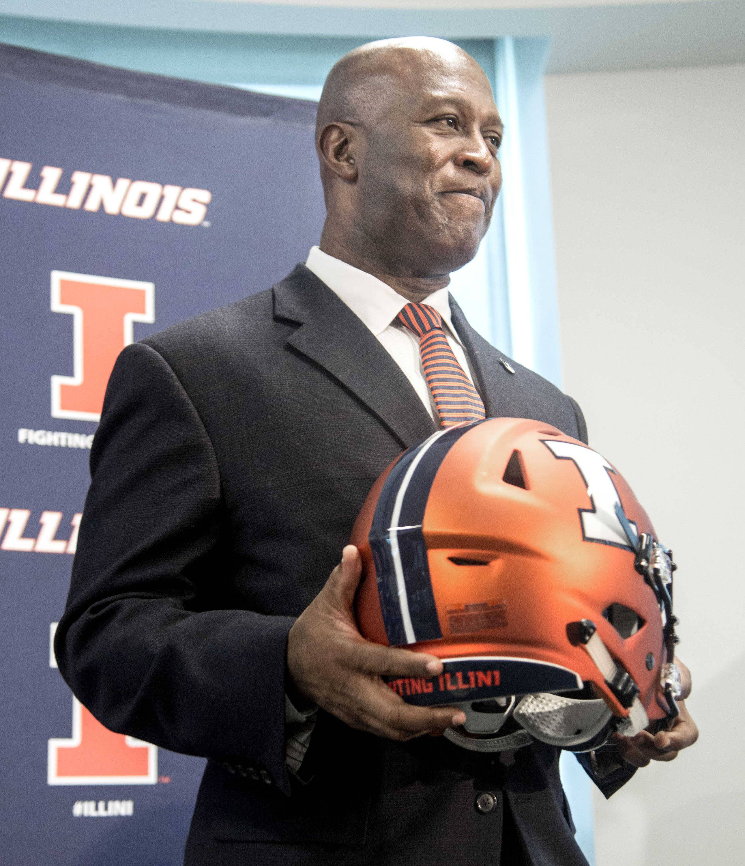 Lovie Smith, the 25th head football coach at the University of Illinois, insists coaching is coaching, whether it's in the NFL or college.