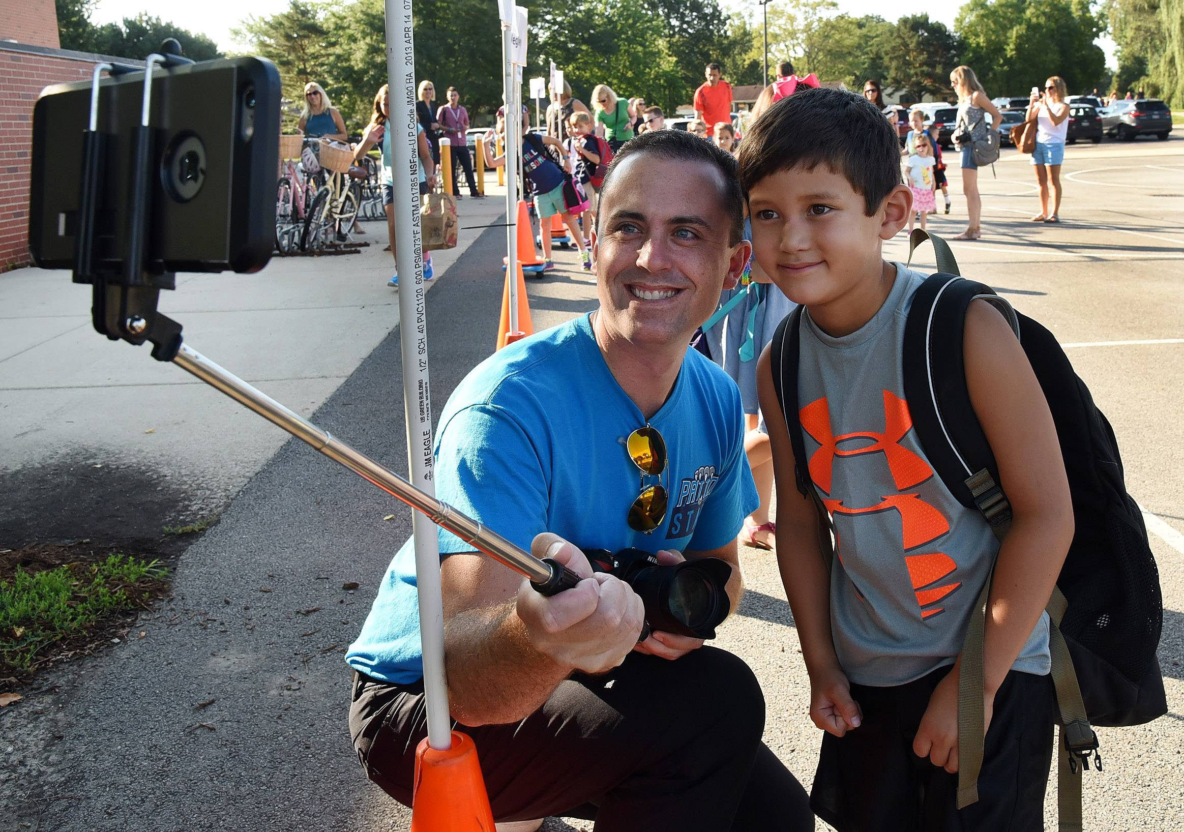 First day of school in Arlington Heights District 25