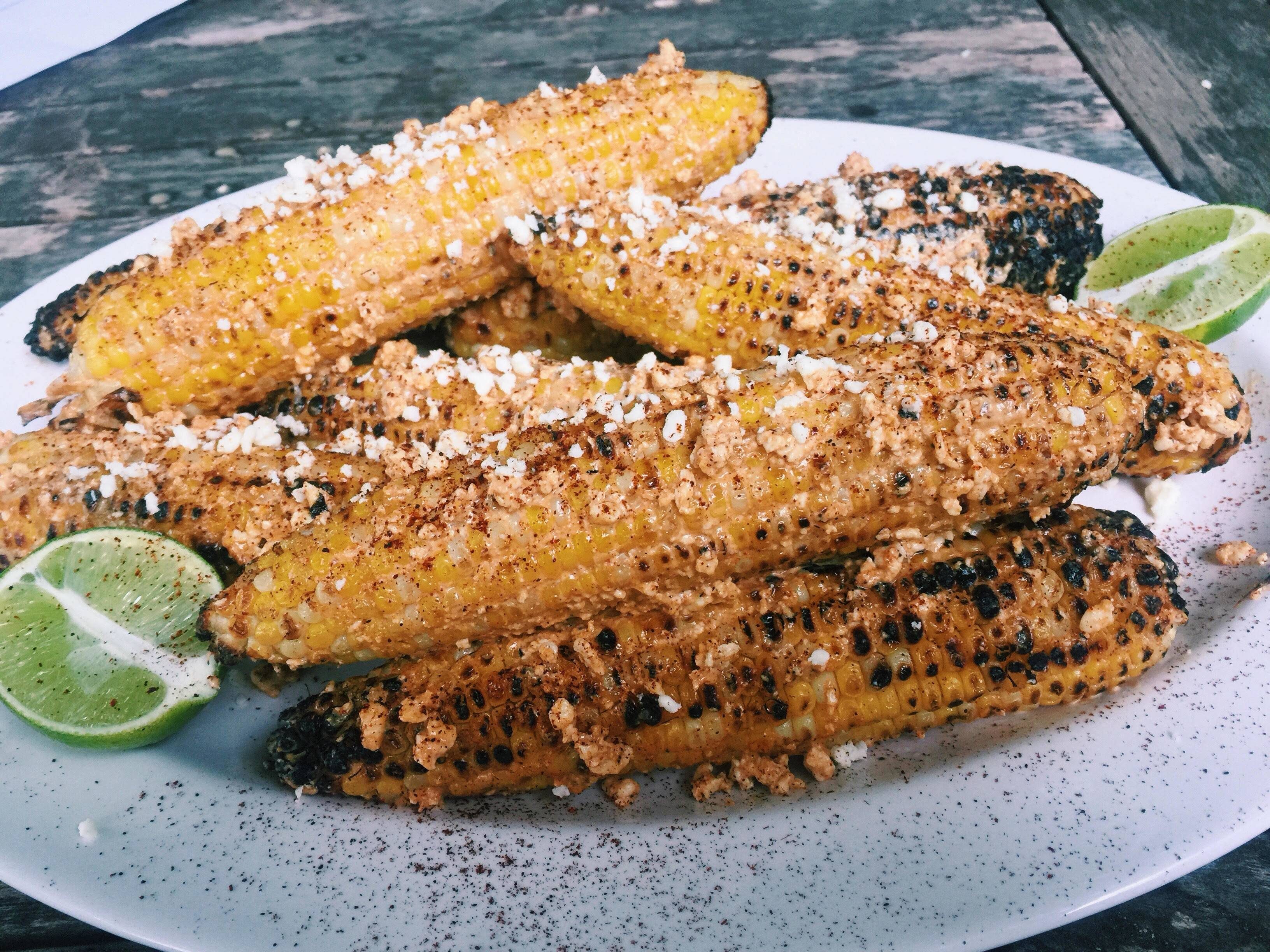 Mexican grilled corn is known as elotes in Mexico. South of the border you buy it from street vendors, but try it yourself at home.