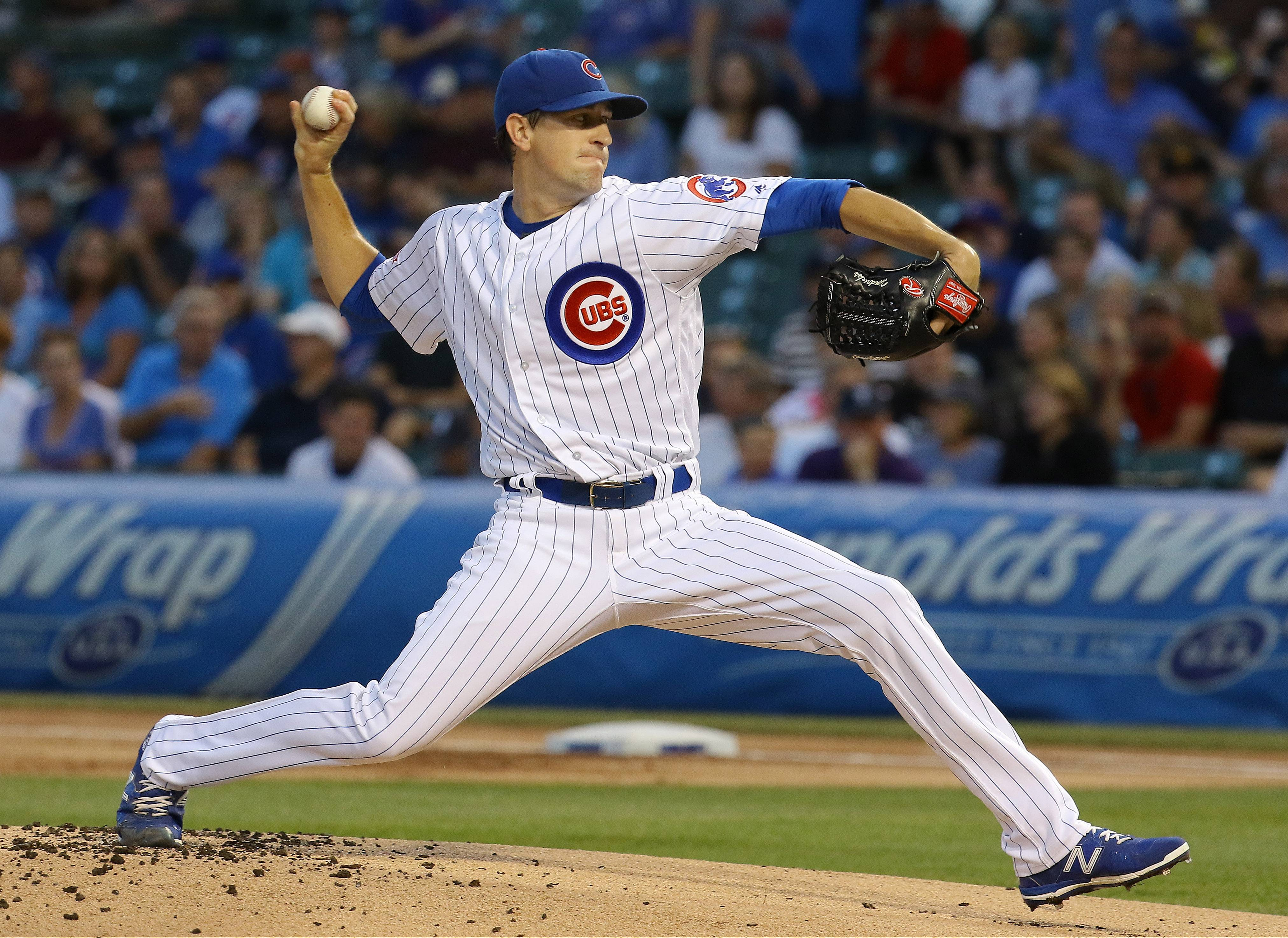Chicago Cubs right-hander Kyle Hendricks continued his artistry Tuesday night, working 7 shutout innings against the Pittsburgh Pirates at Wrigley Field.