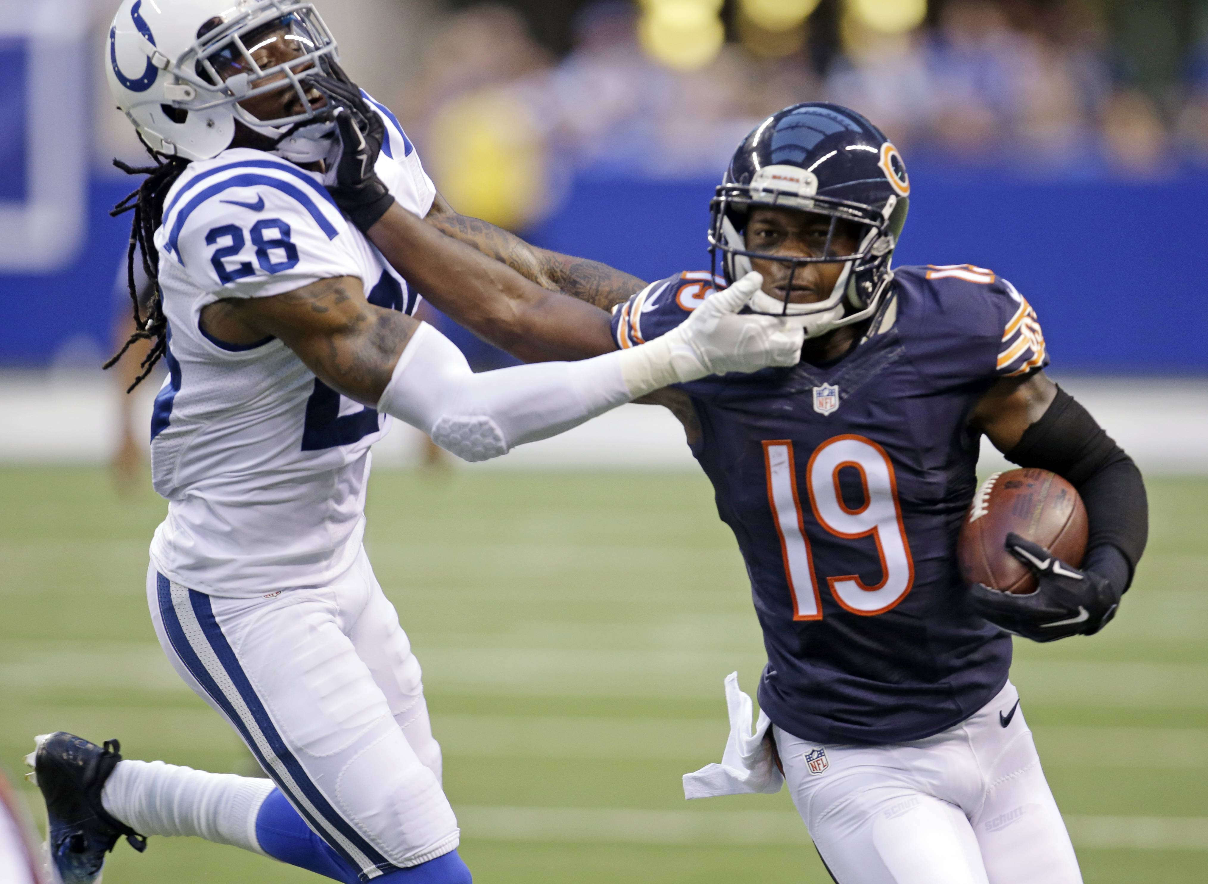 Veteran wide receiver Eddie Royal is back at full strength after suffering a concussion almost a month ago, adding more depth at a position the Bears consider one of their deepest. Only six wideouts, at most, are expected to make the 53-man roster, so some hard decisions must be made by Saturday, when final cuts come down.