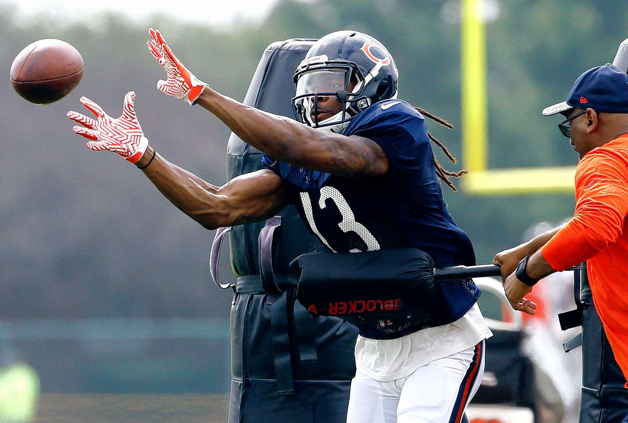 Chicago Bears head coach John Fox trimmed his roster to 75 players on Tuesday. NFL teams have until Saturday to finalize their 53-man roster.
