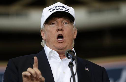 "FILE - In this Aug. 27, 2016 file photo, Republican presidential candidate Donald Trump speaks in Des Moines, Iowa. Trump promises on Twitter that he'll make a major speech on illegal immigration on Wednesday, Aug. 31, 2016, carrying his self-declared ""immigration week"" into a second. Trump appears unable to make a decision on what his policy on his signature issue ought to be, an odd place for a candidate 10 weeks before Election Day and a dark harbinger of indecision for a potential president. (AP Photo/Gerald Herbert, File)"