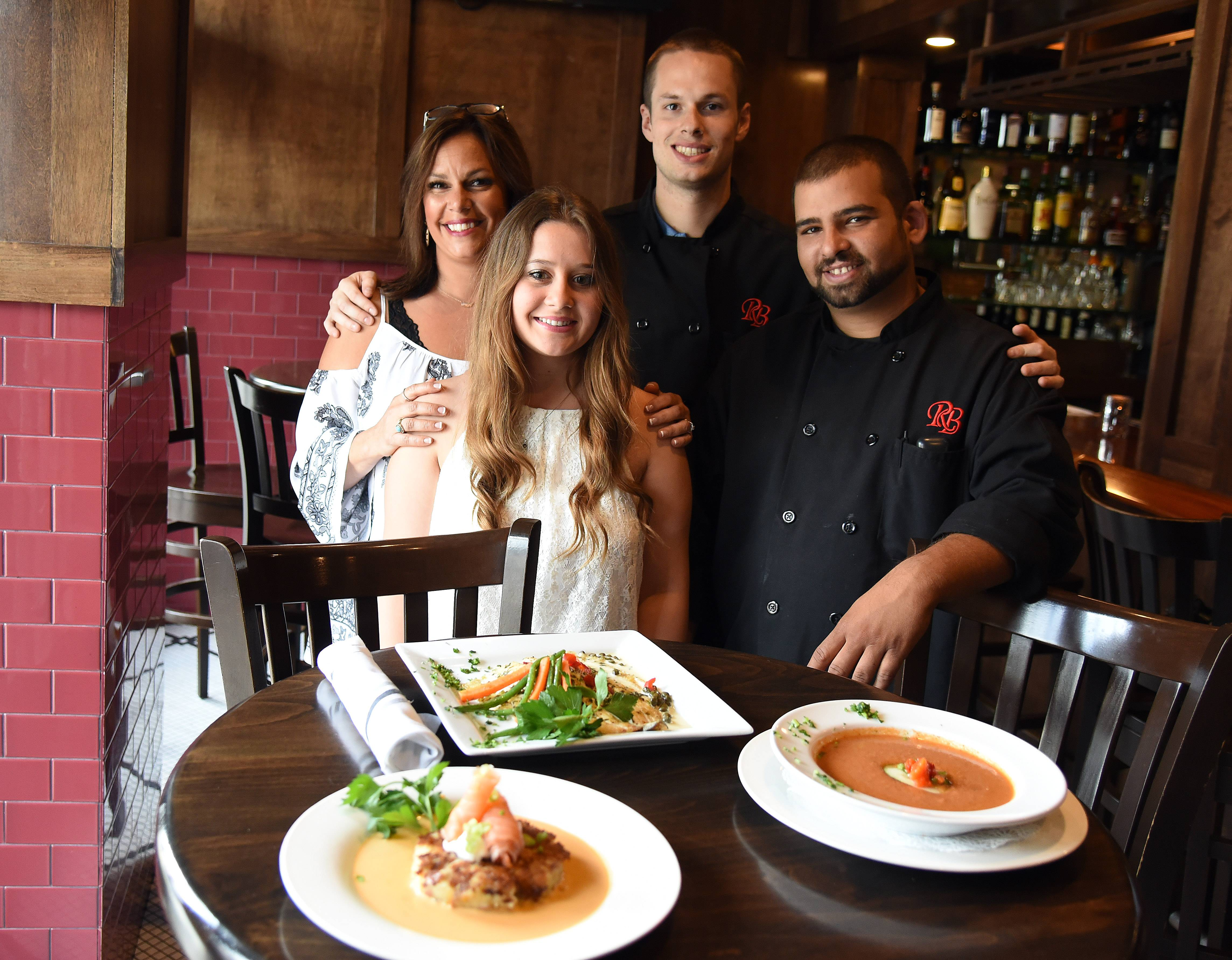 Charmant Owner Lorraine Barth, Left, Bartender Sierra Engle, General Manager CJ  Barth And Bar